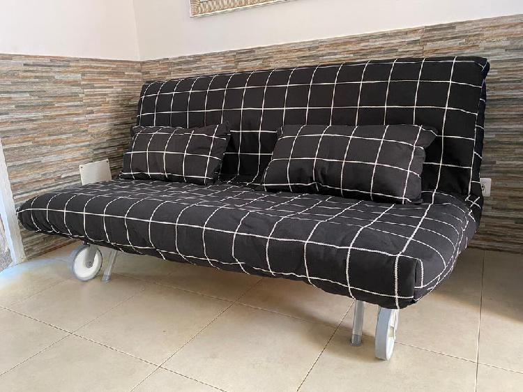 Sofá cama con funda lavable