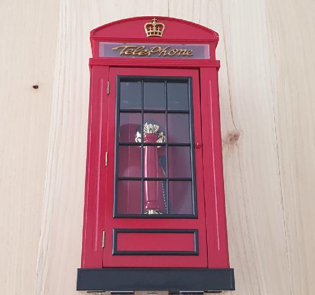 Telefono en forma de cabina londres
