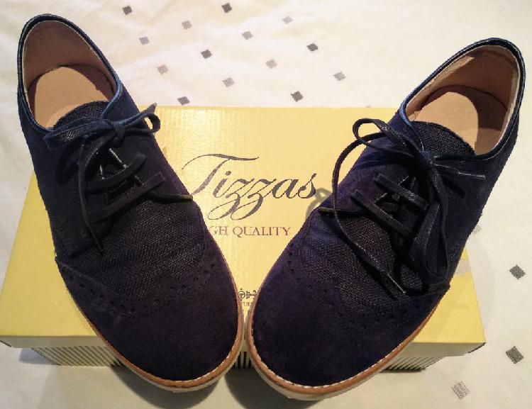 Zapatos blucher cordones. talla 36