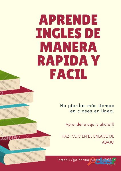Curso de inglés rápido y sencillo 30 días