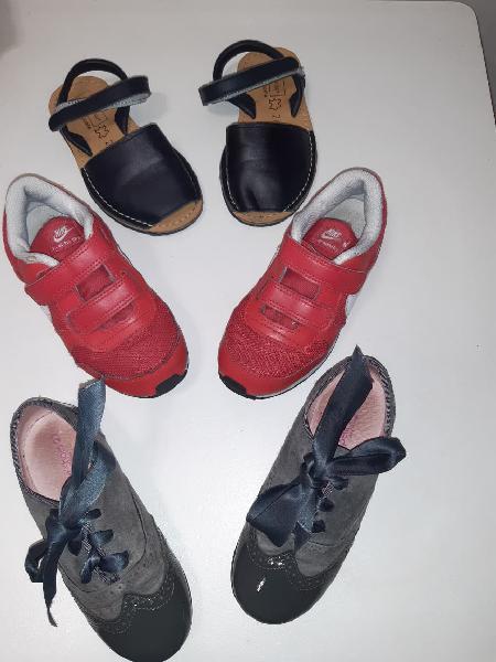 Lote calzado talla 27