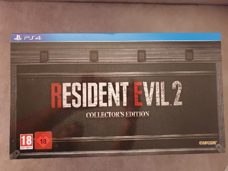 Resident evil 2 edicion coleccionista ps4