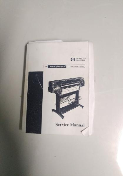 Service manual hp designjet 1050 1055cm