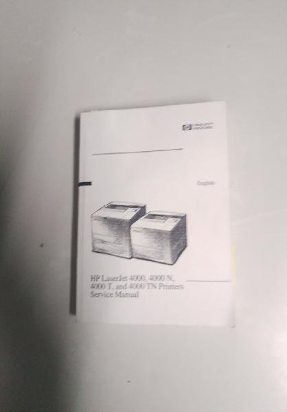 Service manual hp laserjet 4000 series