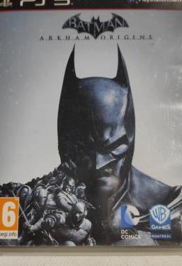 Batman arkham origins ps3 pal esp