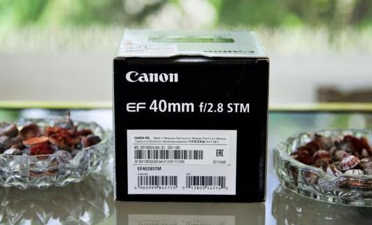 Canon ef 40mm. f2.8 stm como nuevo