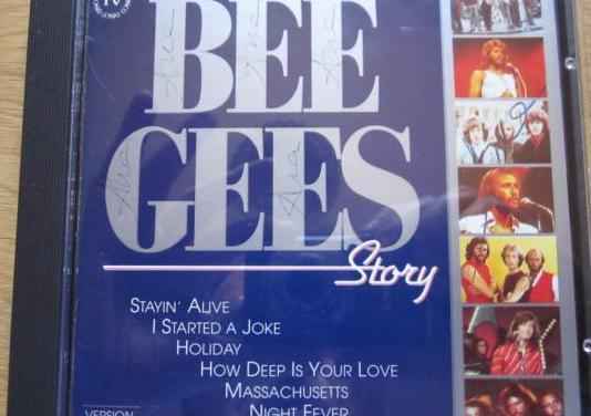 Cd bee gees story . recopilación (1989)