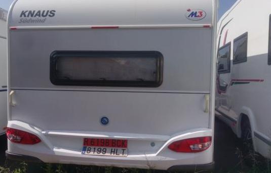 Caravana knaus sudwind 550