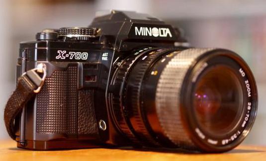 Cámara réflex minolta x-700 28-70mm