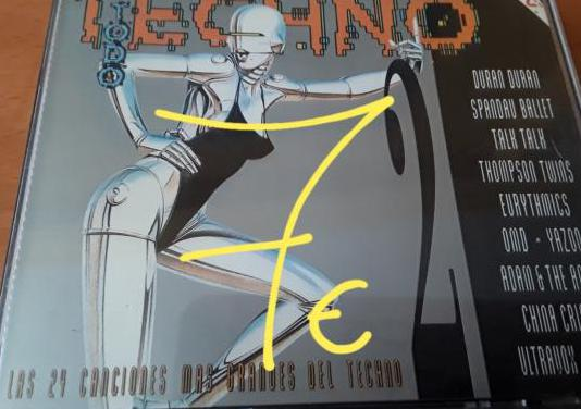 Doble cd música techno