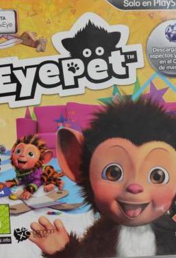 Eyepet ps3 pal esp usado sin cámara