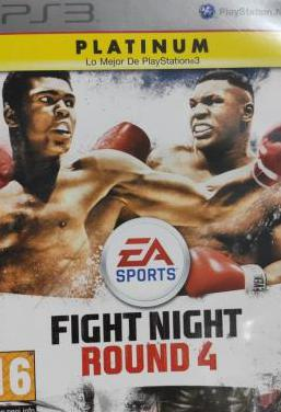 Fight night round 4 ps3 pal esp