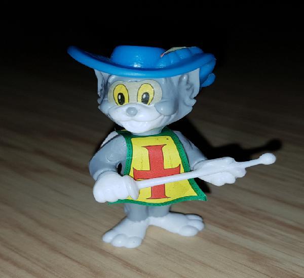 Figura kinder ferrero antigua montable gato de tom y jerry