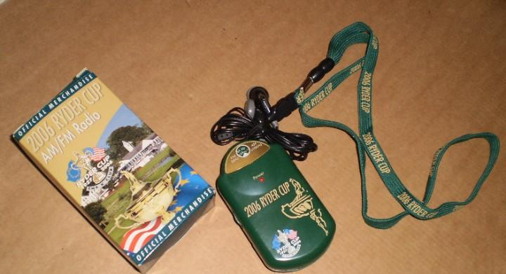 Golf - radio nuevo - ryder cup 2006