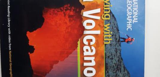 Living wiht a volcano. national geographic