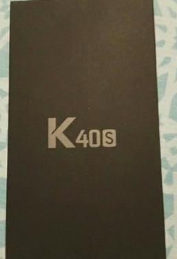 Móvil lg k40s nuevo