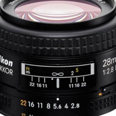 Nikkor af 28 mm f2.8 (nikon)