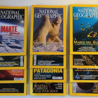 National geographic - revista - año 2004