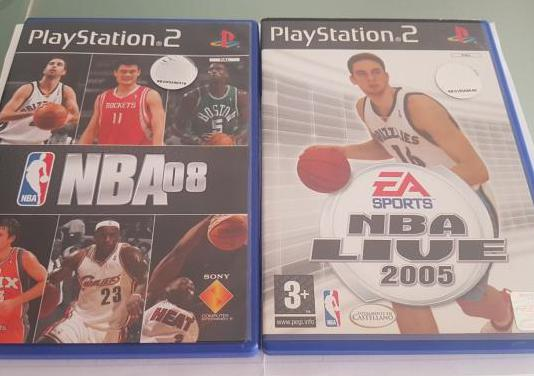 Pack nba ps2