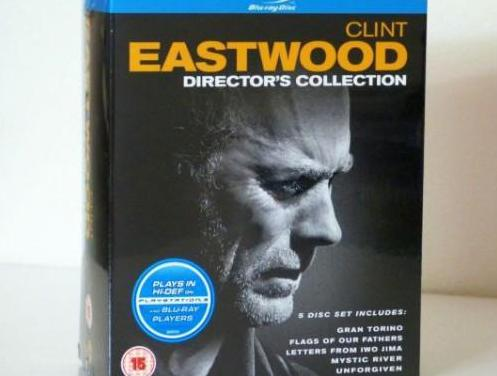 Pack 5 peliculas blu-ray clint eastwood nuevo