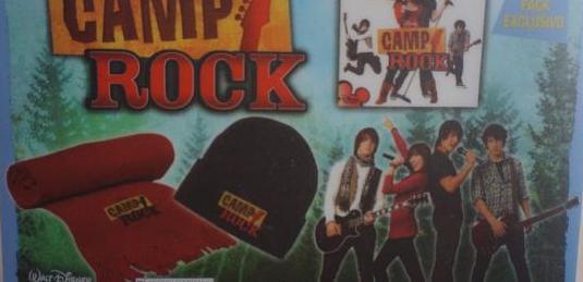 Pack especial camp rock disney