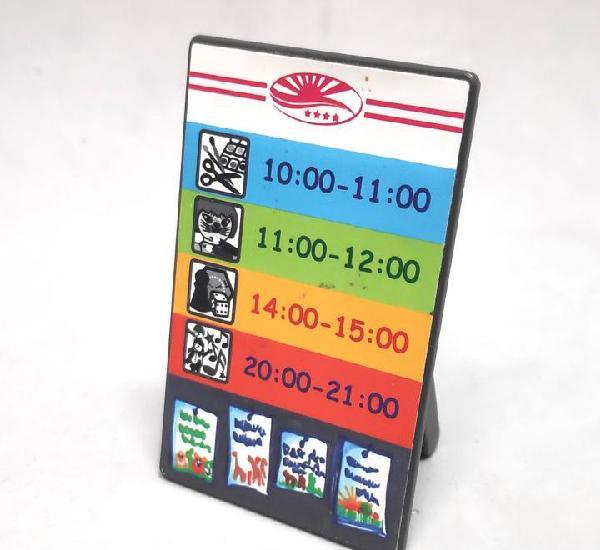 Playmobil ref. 5266 pizarra cartel horarios discoteca