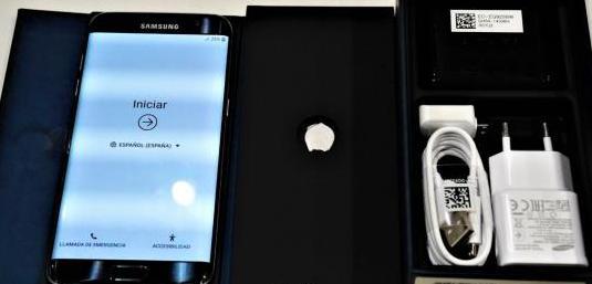 Samsung galaxy s7 edge como nuevo negro