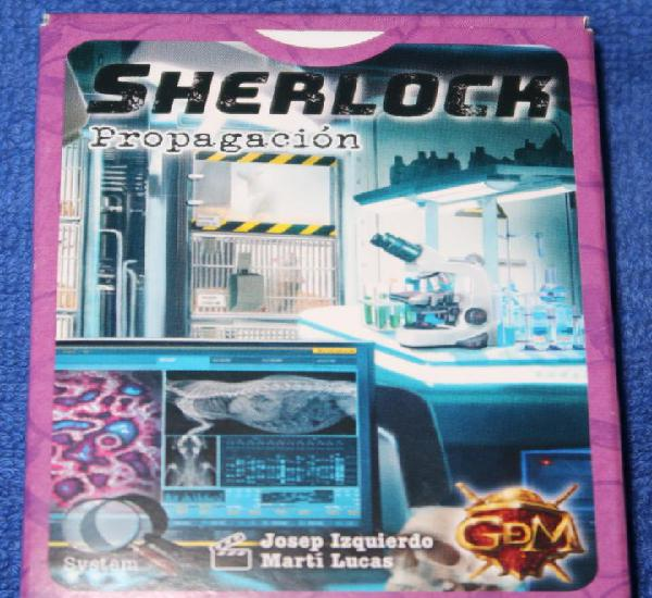 Serie q sherlock - propagación - gdm (2019)