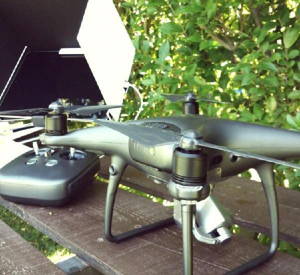 Servicios profesionales con drones en madrid