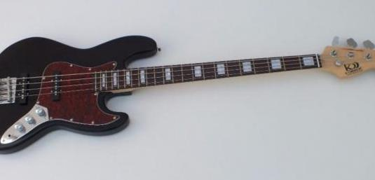 Set de bajo jazz bass kobrat + funda + cable +...