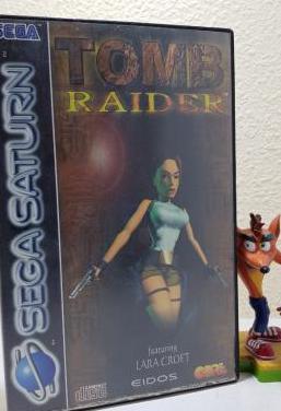 Tomb raider / sega saturn / completo
