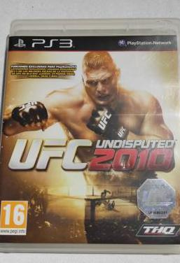 Ufc undisputed 2010 ps3 pal