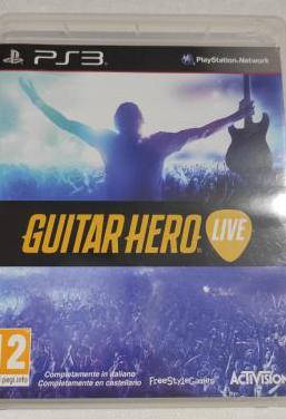 Videojuego guitar hero live ps3 pal