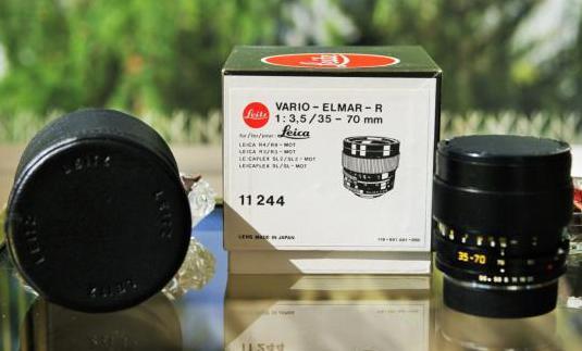 Zoom leica vario-elmar-r 35-70mm f3.5 e60 3cam