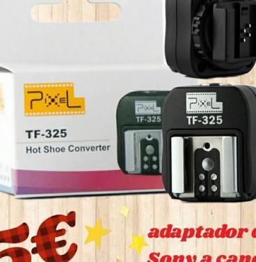 Adaptador flash pixel tf-325