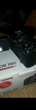 Cámara de fotos 700d