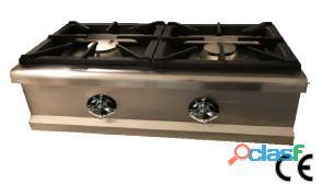 Cocina a gas sobremesa 2 fuegos... 455 €...