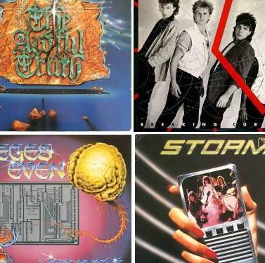 Discos vinilo de rock - 80s