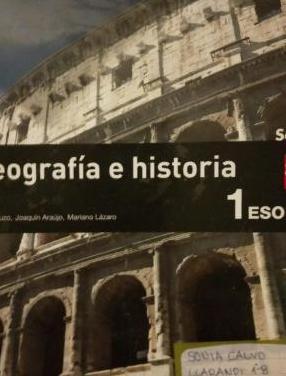 Geografía e historia 1 eso editorial sm