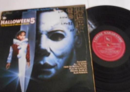 Halloween 5-lp bso del film -germany 1989,