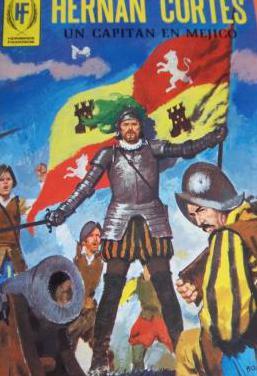 Hernán cortés,ilustrado-1977