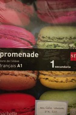 Libro francés promenade a1 1eso