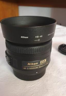 Objetivo nikon dx 35mm f: 1,8 afs