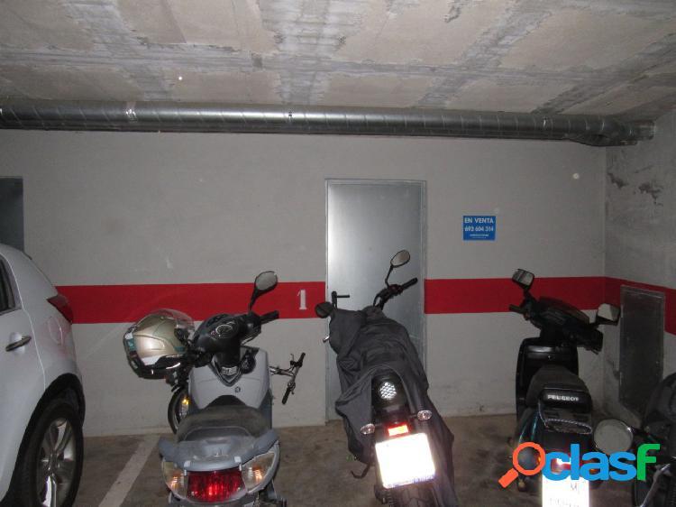 SE VENDE PLAZA DE PARKING Y TRASTERO EN PALAFOLLS 2