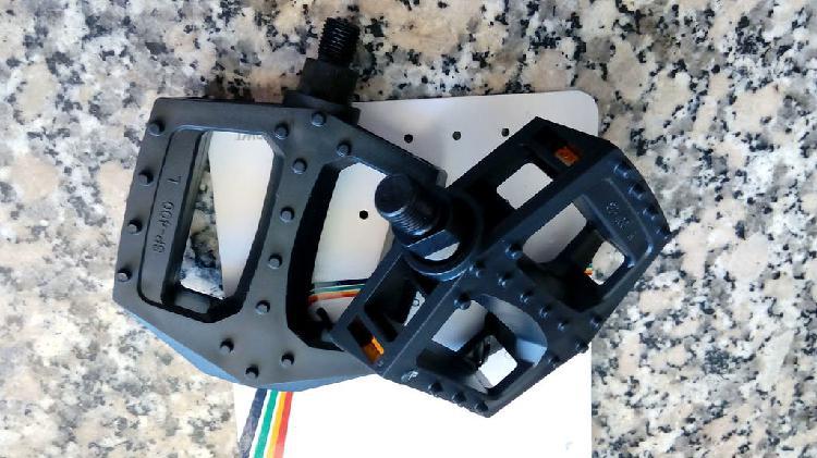 12 mm pedal rosca americana de 12 mm anchos y cómo