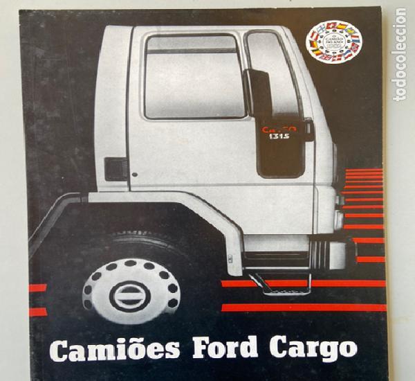 1982 catálogo camion ford cargo 1315