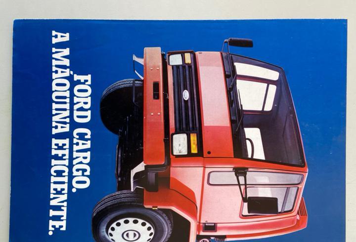 1983 catálogo camion ford cargo