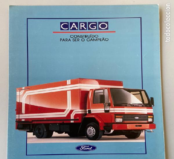 1989 catálogo camion ford cargo