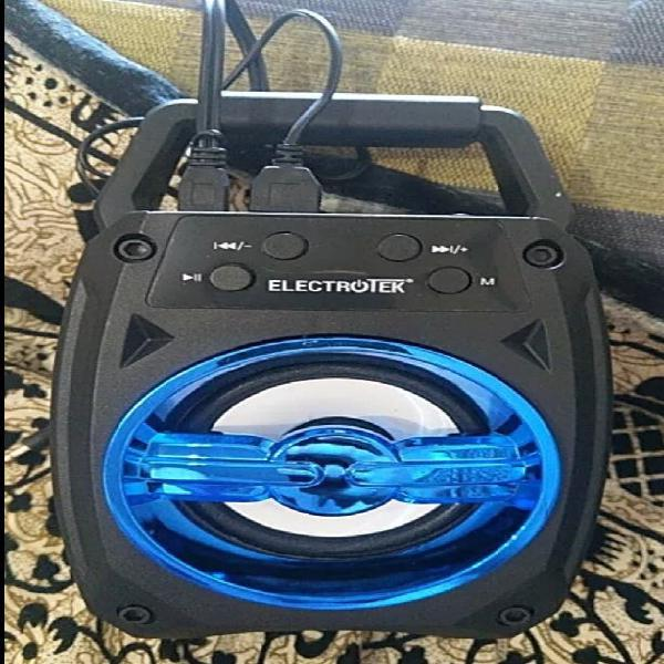 Altavoz portátil bluetooth et-ps104