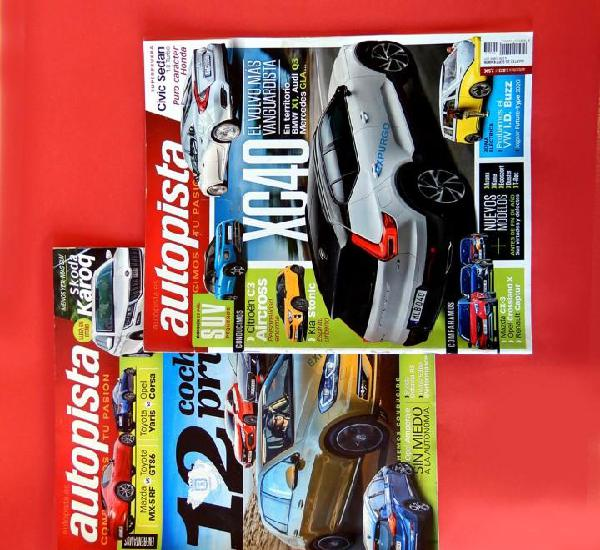 Autopista, lote dos revistas - nº; 3008 y 3023 - 2017 -